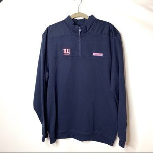 Vineyard Vines Mens Shep Shirt NY Giants L C8